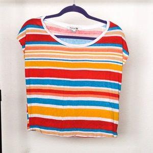 Multi-Colored Striped Top